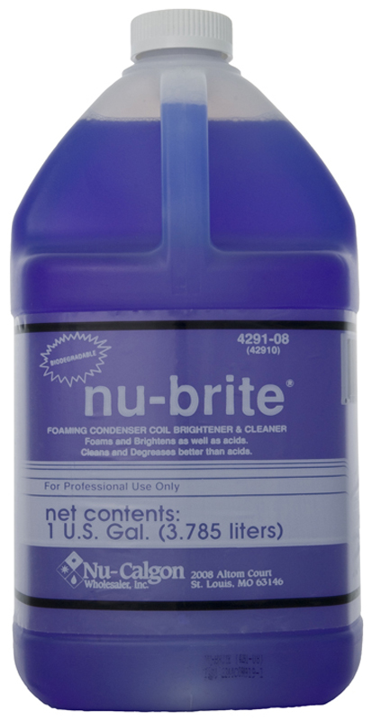 ac coil cleaner. anybody used nu-brite coil cleaner? ac cleaner